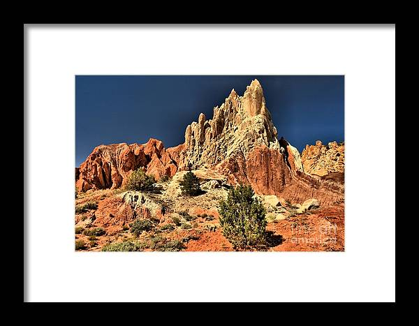 Cottonwood Road Framed Print featuring the photograph Cottonwood Rainbows by Adam Jewell