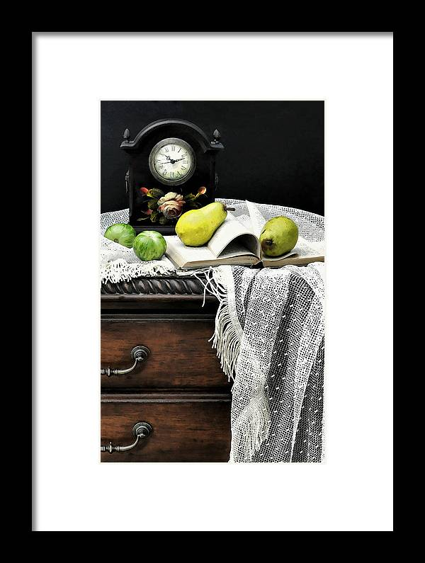Still Life Framed Print featuring the photograph Counter Productive by Diana Angstadt