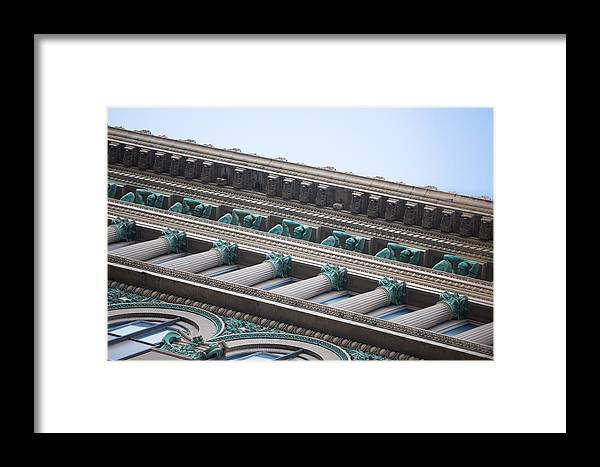 Pittsburgh Pa. Pennsylvania Skyscraper Skyline Building Copper clark Building Framed Print featuring the photograph Counterparts 3 by Jimmy Taaffe