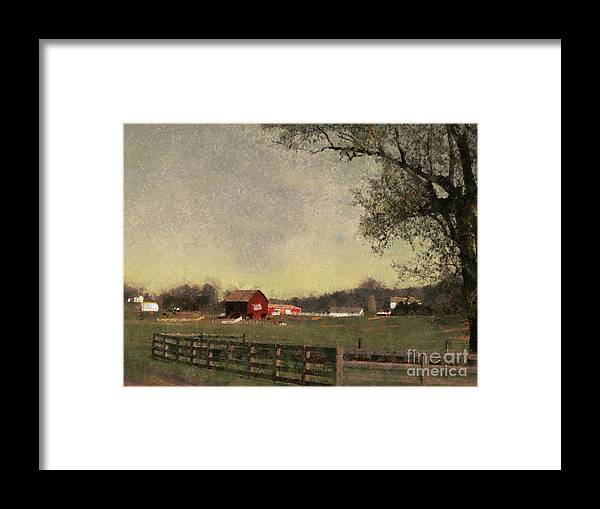 Farm Framed Print featuring the painting Country Collections Two by Scott B Bennett