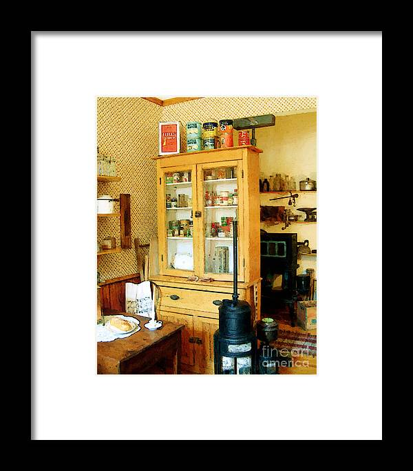 Antiques Framed Print featuring the painting Country Kitchen Sunshine IIi by RC DeWinter