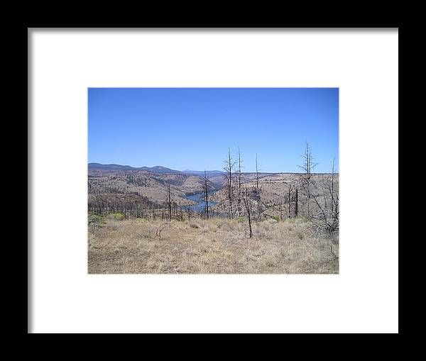 Landscape Framed Print featuring the photograph Countryside by Heather L Wright