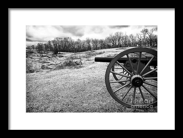 Covering The Field Framed Print featuring the photograph Covering The Field by John Rizzuto