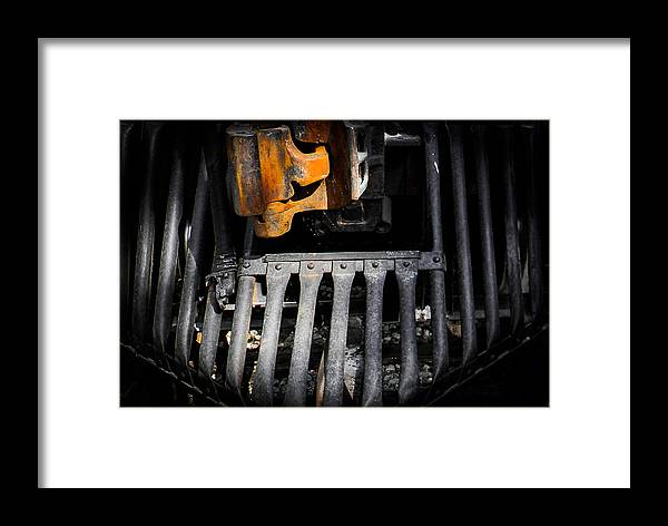 cow Pusher Framed Print featuring the photograph Cow Pusher by Christy Usilton