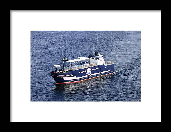 Fishing Framed Print featuring the photograph Crabbing or Tourism by Richard Henne