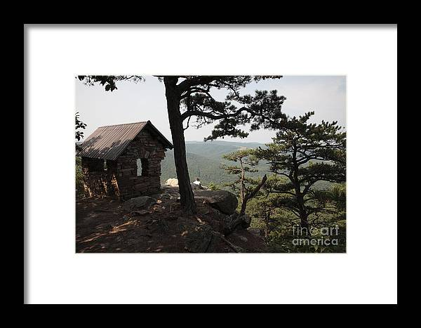 Appalachian Framed Print featuring the photograph Cranny Crow Overlook At Lost River State Park by William Kuta
