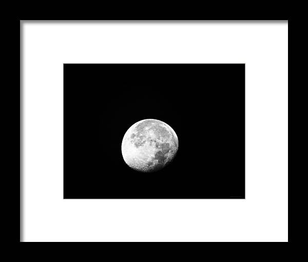 Craterous Framed Print featuring the photograph Craterous by Brenda Conrad