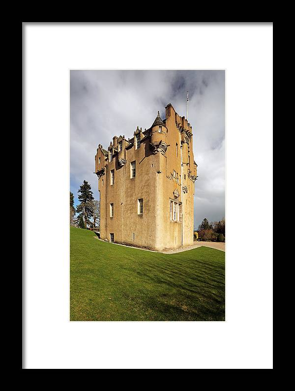 Photography Framed Print featuring the photograph Crathes Castle by Grant Glendinning