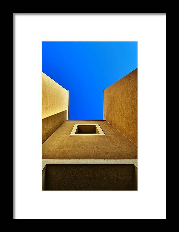 Crete Framed Print featuring the photograph Cretan Architecture VIII by Martin Wackenhut
