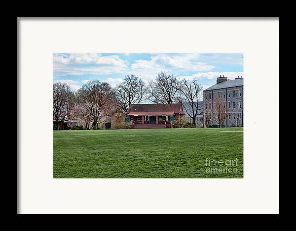 Haverford Framed Print featuring the photograph Cricket Field Haverford College by Kay Pickens
