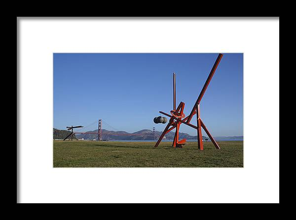Field Framed Print featuring the photograph Crissy Field by Brian Kamprath