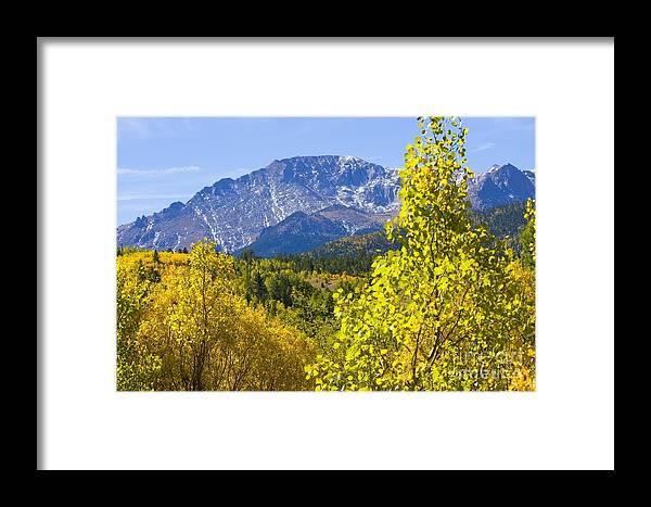 Autumn Framed Print featuring the photograph Crystal Creek Autumn by Steve Krull