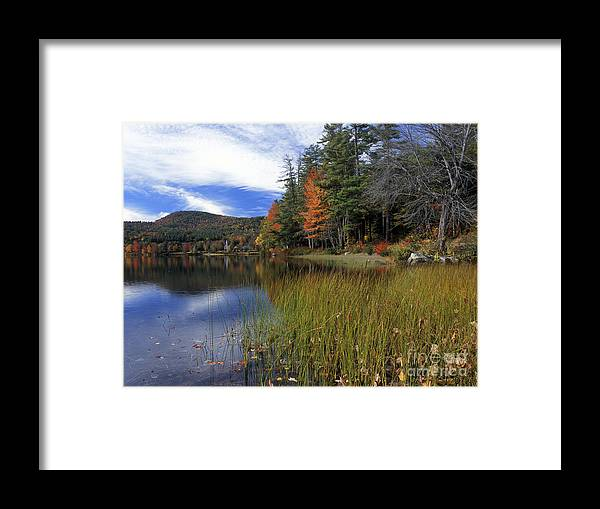 Autumn Framed Print featuring the photograph Crystal Lake - Fm000116 by Daniel Dempster