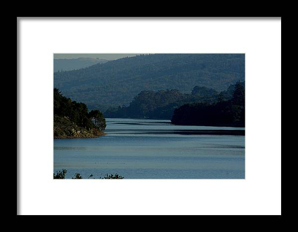 Crystal Springs Framed Print featuring the photograph Crystal Springs 4 by Pico Soriano