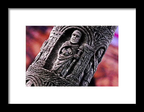 Sculpture Framed Print featuring the photograph Culture Shift by Mike Flynn