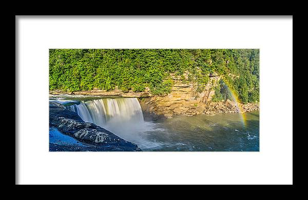 Cumberland Falls State Park Framed Print featuring the photograph Cumberland Falls by Anthony Heflin