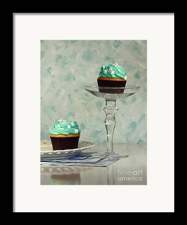 Cupcake Frenzy Framed Print featuring the photograph Cupcake Frenzy by Inspired Nature Photography Fine Art Photography