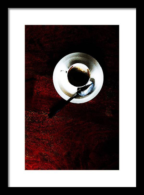 Coffee Framed Print featuring the photograph Cupp by Leon Hollins III