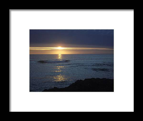 Framed Print featuring the photograph Curtain Set by Randy Esson