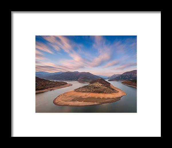 Landscape Framed Print featuring the photograph Curves by Andrey Trifonov