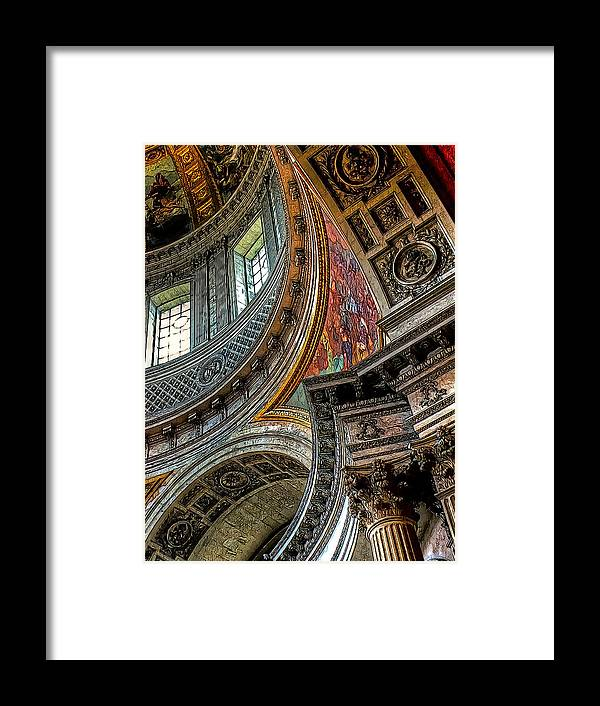 Architecture Framed Print featuring the photograph Curves by Douglas J Fisher