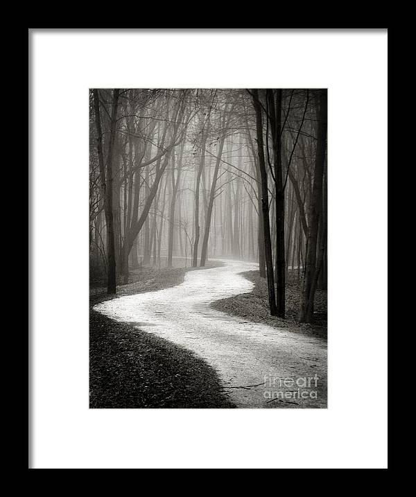 Ohio Framed Print featuring the photograph Curves by Robert Gardner