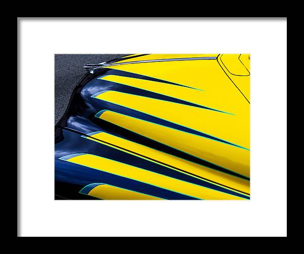 Plymouth Sedan Framed Print featuring the photograph Custom Plymouth Sedan by Robert Grant