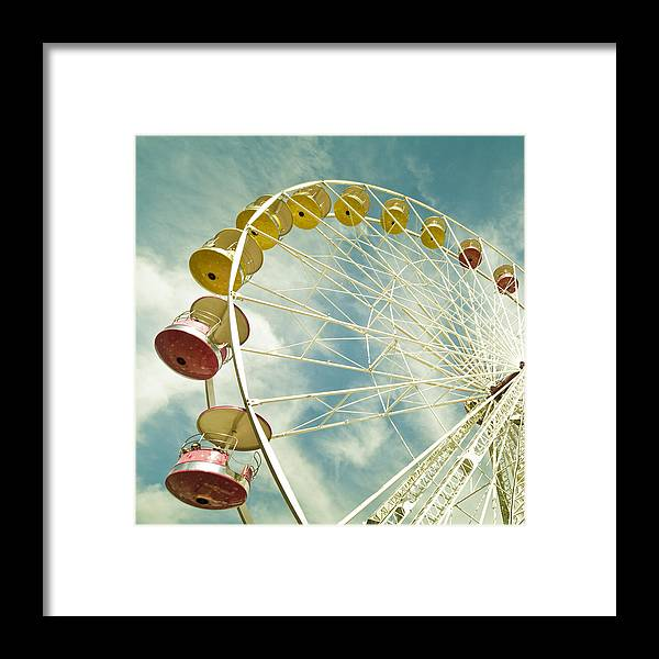 Wheel Framed Print featuring the photograph Da Big Wheel by Cedric Lange