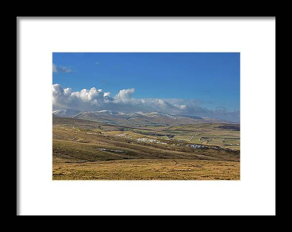 England Framed Print featuring the photograph Dales View by Trevor Kersley