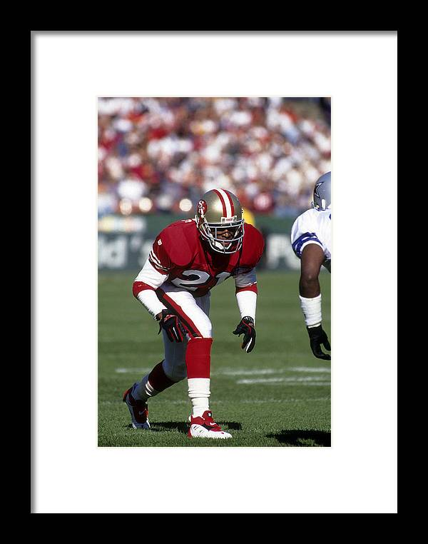 0d9252eca1d Candlestick Park Framed Print featuring the photograph Dallas Cowboys V San  Francisco 49ers by Focus On