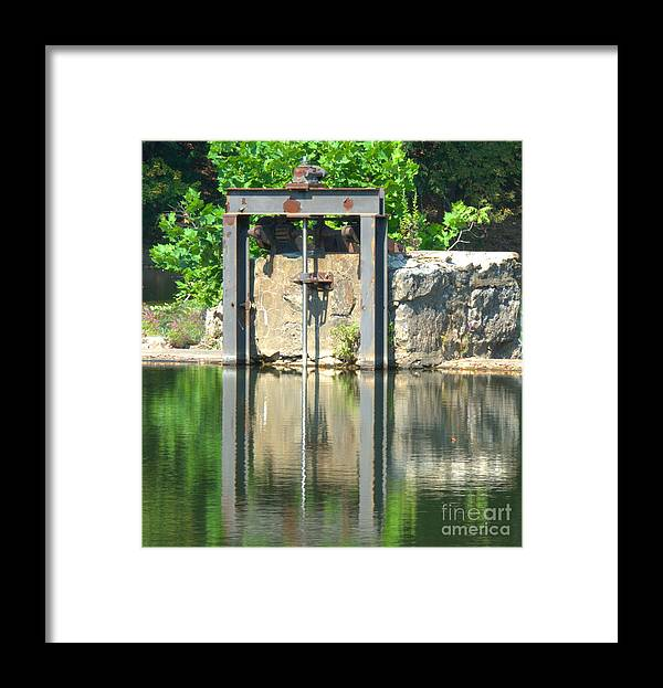 Dam Framed Print featuring the photograph Dam Gate by David Call