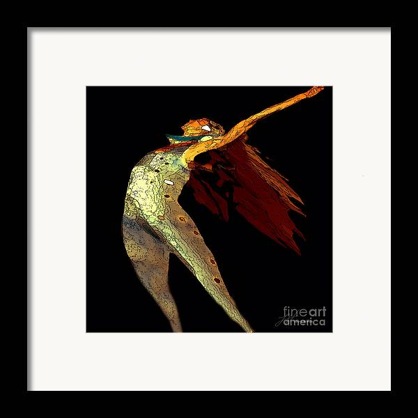 Dance Images Framed Print featuring the painting Dance Free by Artist and Photographer Laura Wrede