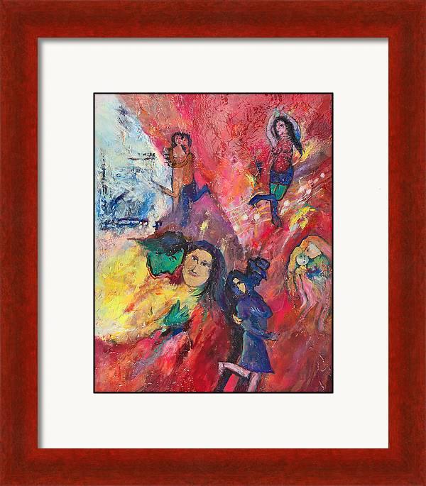 Dance To The Light Fandango by Charles Wallis