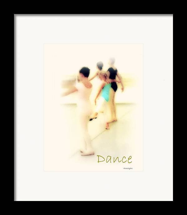 Dance Framed Print featuring the mixed media Dance by YoMamaBird Rhonda