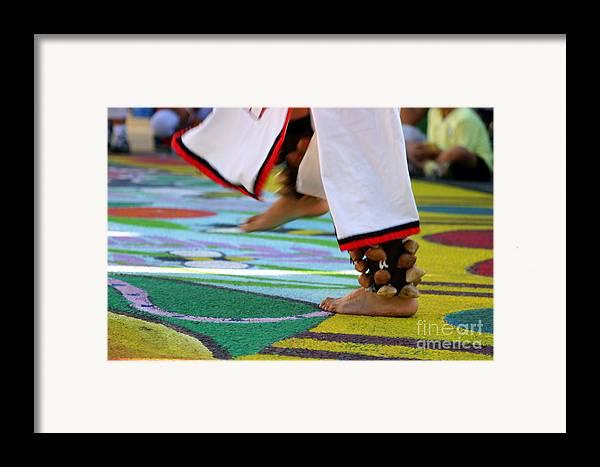 Dancing Framed Print featuring the photograph Dancing Feet by Henrik Lehnerer