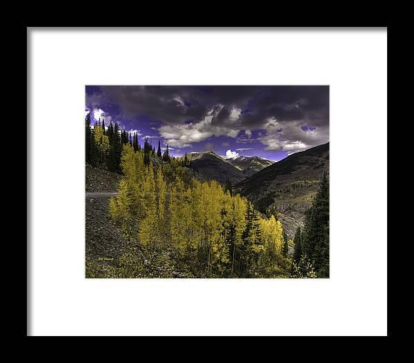 Landscape Framed Print featuring the photograph Dark Brightness by Bill Sherrell