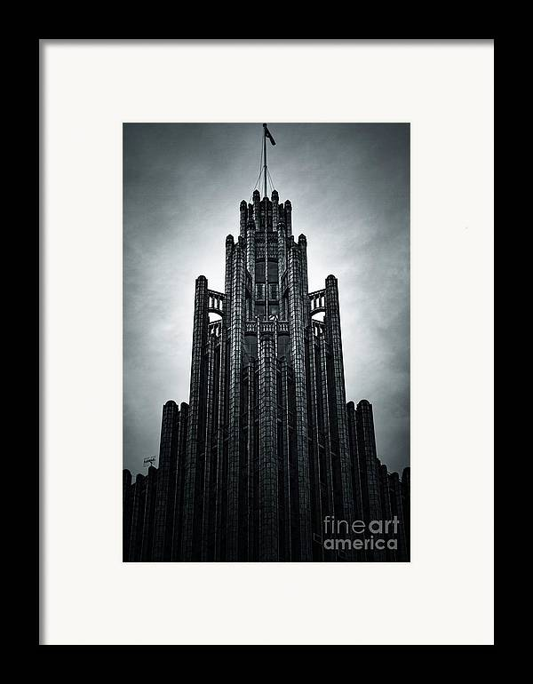 Manchester Framed Print featuring the photograph Dark Grandeur by Andrew Paranavitana