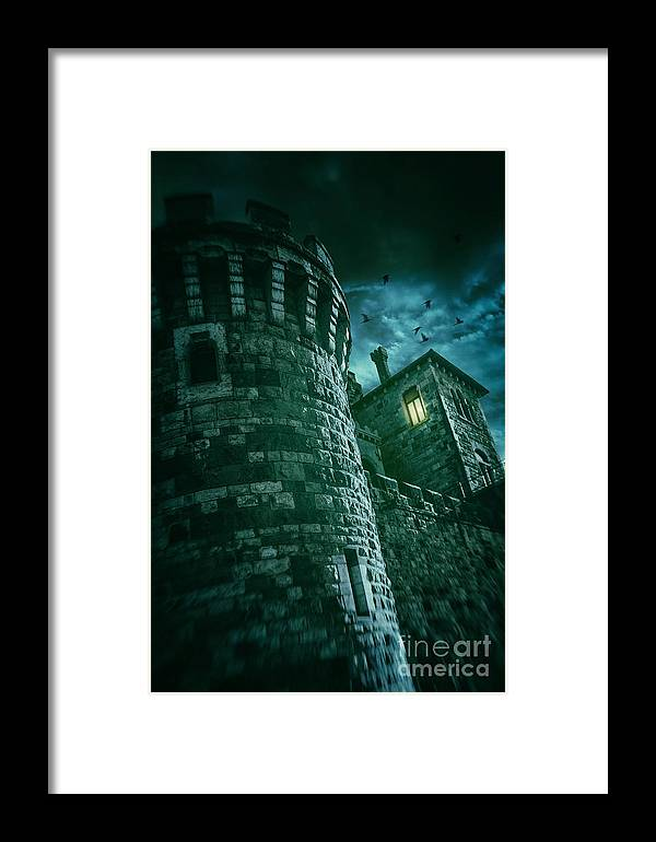 Castle Framed Print featuring the photograph Dark Tower by Carlos Caetano
