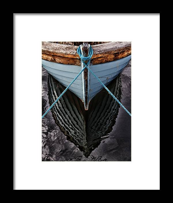 Bay Framed Print featuring the photograph Dark Waters by Stelios Kleanthous