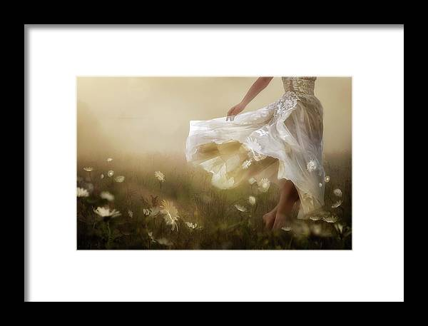 Summer Framed Print featuring the photograph Dawn Is A Feeling... by Charlaine Gerber