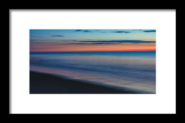 Ocean Framed Print featuring the photograph Dawn Of A New Day by David Kay