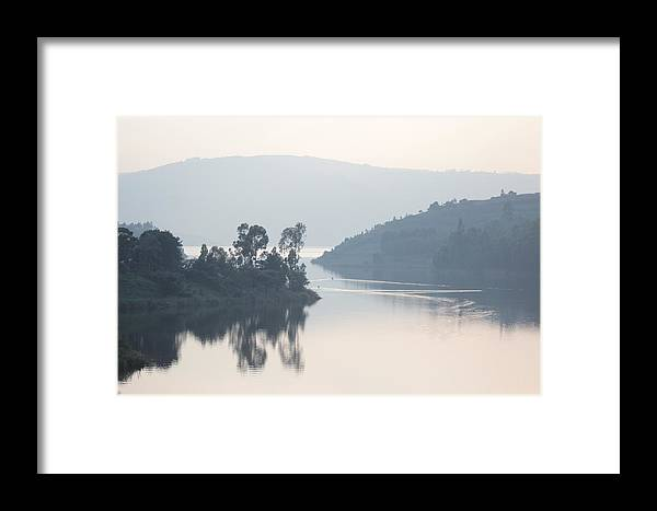 Water Framed Print featuring the photograph Dawn On Lake Victoria by Pat Tracey
