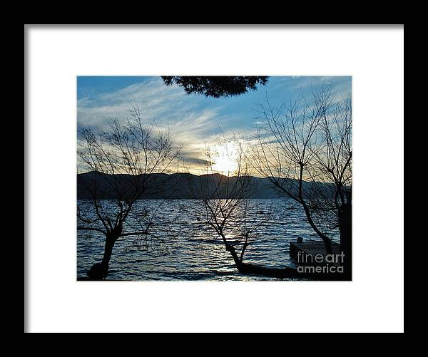 Water Framed Print featuring the photograph Day dreaming by De La Rosa Concert Photography