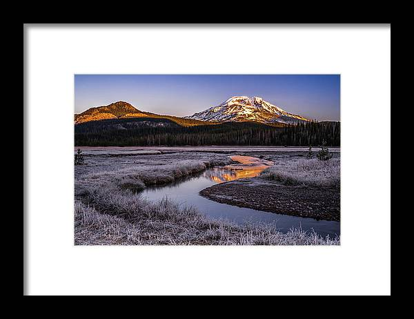 Zeiss Framed Print featuring the photograph Daybreak by Andreas Agazzi