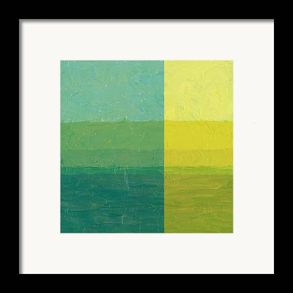 Day Framed Print featuring the painting Daybreak by Michelle Calkins