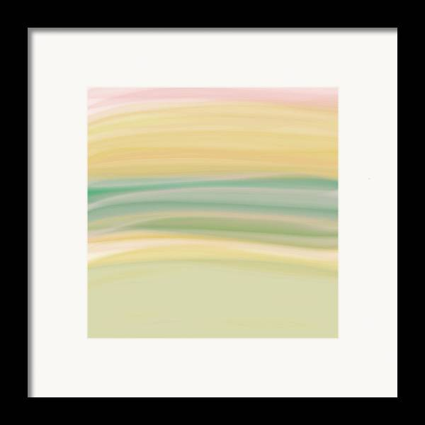 Digital Painting Framed Print featuring the digital art Daydreams 1 by Bonnie Bruno