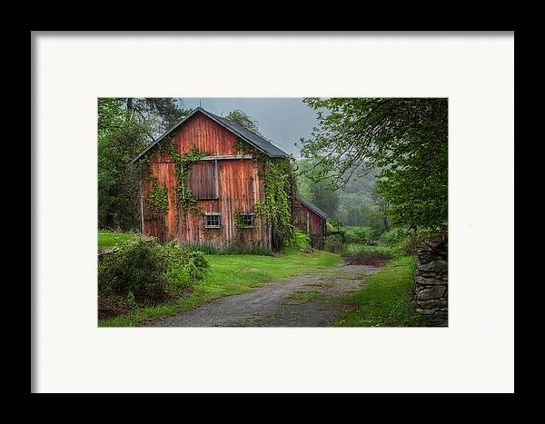 Bucolic Framed Print featuring the photograph Days Gone By by Bill Wakeley
