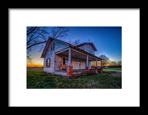 House Framed Print featuring the photograph Days Gone By by Robert Mullen