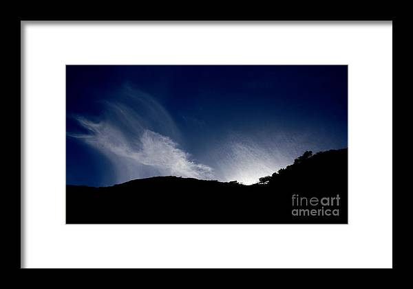Sunset Framed Print featuring the photograph Days Last Dance by Amanda Holmes Tzafrir