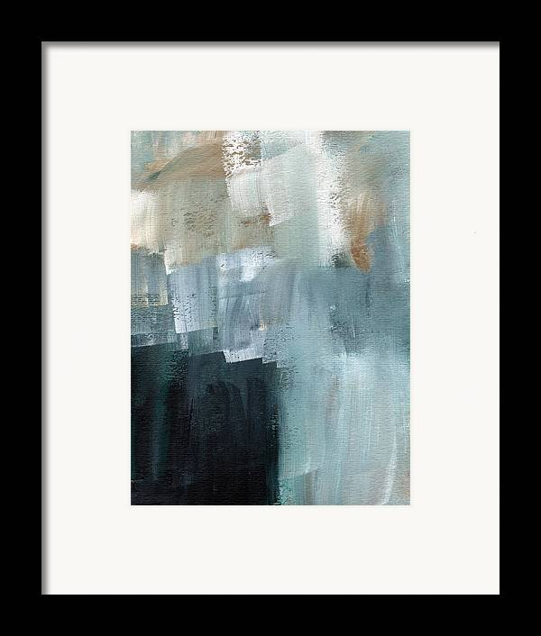 Abstract Art Framed Print featuring the painting Days Like This - Abstract Painting by Linda Woods